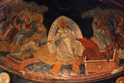 11 anastasis fresco chora church