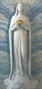 Vierge au globe rue du bac